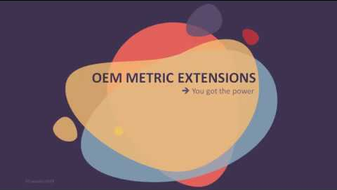 Create a custom metric extension in OEM 13c